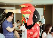 Quantum Chinese New Year Celebration 2014, Cai Shen @ Garden By Bay