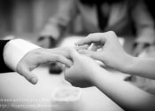 Daryl & Karen ROM Solemnization Photography Ring Exchange @ Registry of Marriage