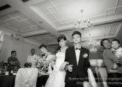 Gabriel & Joey Wedding Dinner Wedding-march-in @ Jurong Country Club Singapore