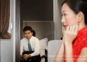 John & Mei Actual Day Wedding Photography @ Bliss Hotel, Morning Make-Up