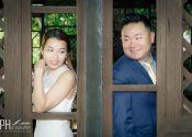 Aaron & Joyce ROM Solemnization @ Fort Canning Singapore